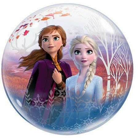 "156 Frozen 2 Bubble 22"" Mylar Balloon"