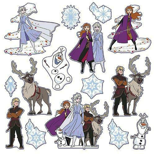 Frozen 2 Puffy Stickers 1 Sheet