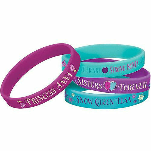 Frozen Wristbands 4ct