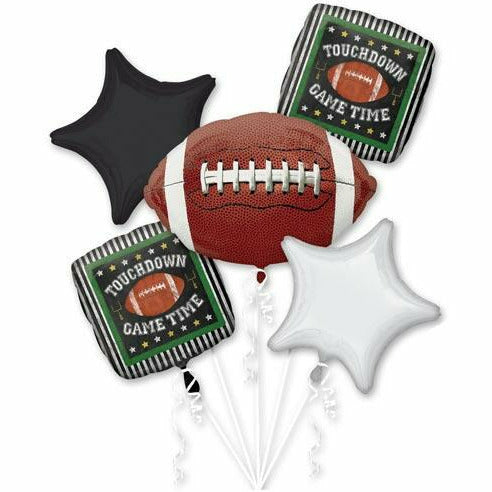 918 Game Time Football Balloon Bouquet 5PC