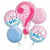 516 Boy or Girl Gender Reveal Balloon Bouquet
