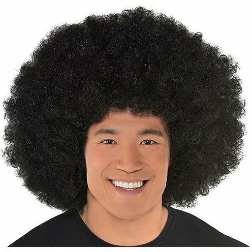 Giant Black Afro Wig