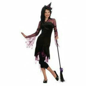 Girls Teen Pink Witch Costume - Q7