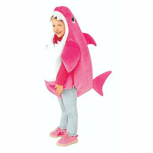 Toddler Girls Mommy Shark Costume