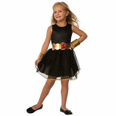 Girls Tutu Dress Black Widow Costume - Black Widow