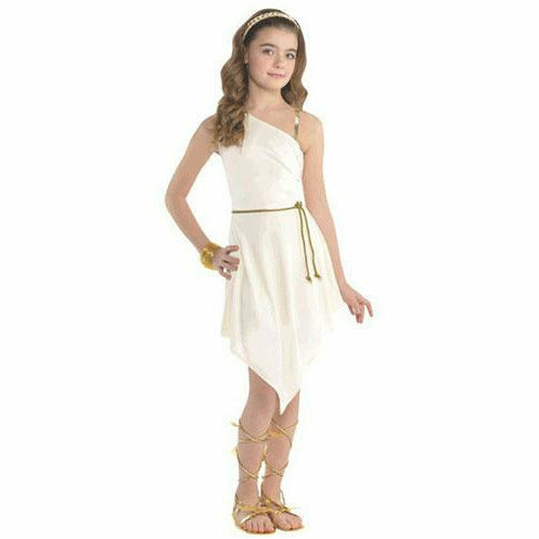 Girls Goddess Dress Costume