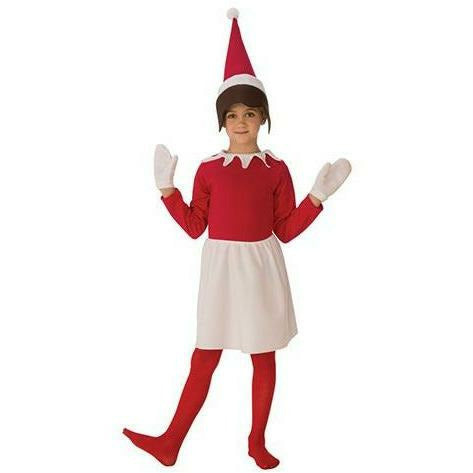 Girls Sitting Elf Costume