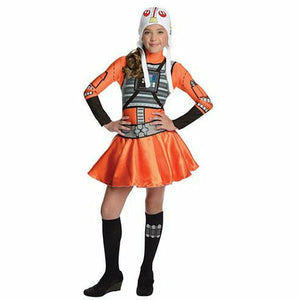 Girls Tween X-Wing Fighter Costume – Star Wars