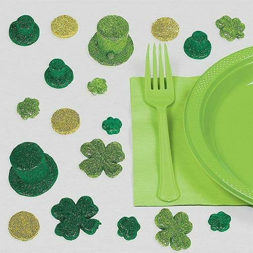 Glitter St. Patrick's Day Table Scatter 20ct