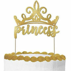 Glitter Disney Once Upon a Time Princess Cake Topper