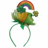 R6 Glitter Rainbow & Shamrocks St. Patrick's Day Headband