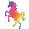 "266 Rainbow Unicorn Jumbo 54"" Mylar Balloon"