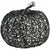 Glitter Web Covered Pumpkin Decoration