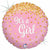 "529 Pink Glitter It's a Girl 18"" Mylar Balloon"