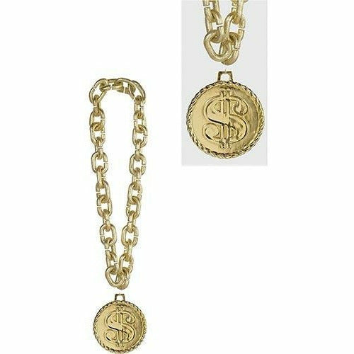 Gold Dollar Sign Chain