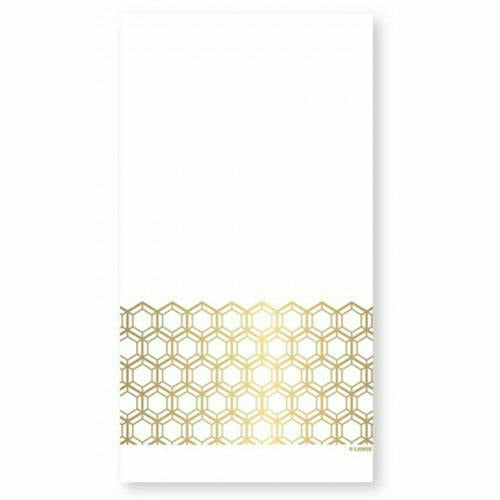 Guest/Dinner Napkin (16Ct) - Prismatic Gold