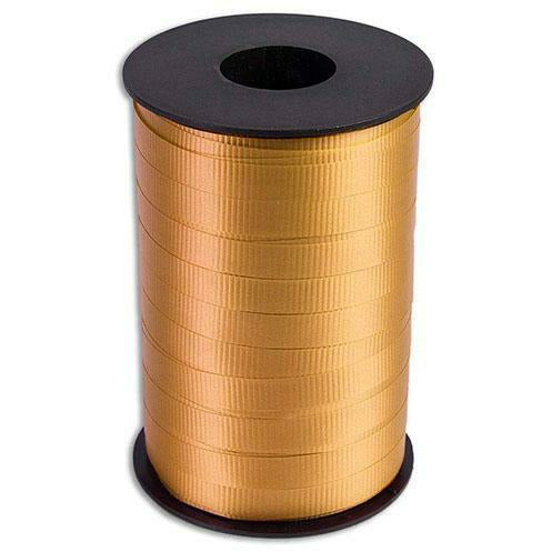 "Gold Curling Ribbon 3/8"" x 250 Yards"