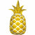 "316 Golden Pineapple Jumbo 44"" Mylar Balloon"