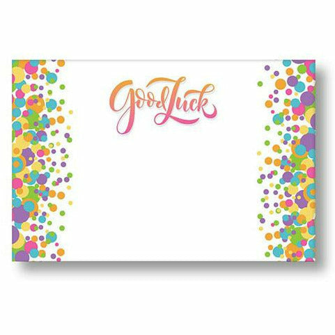 Good Luck Confetti Card
