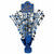 Blue Congrats Grad Spray Centerpiece