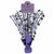 Purple Congrats Grad Spray Centerpiece