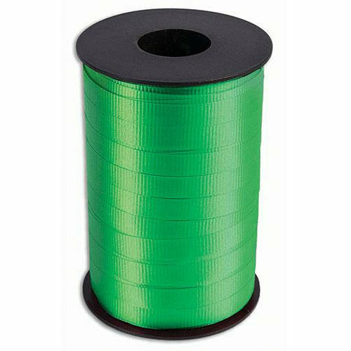 "Green Curling Ribbon 3/8"" x 250 Yards"