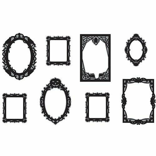 Halloween Photo Booth Frames 12ct