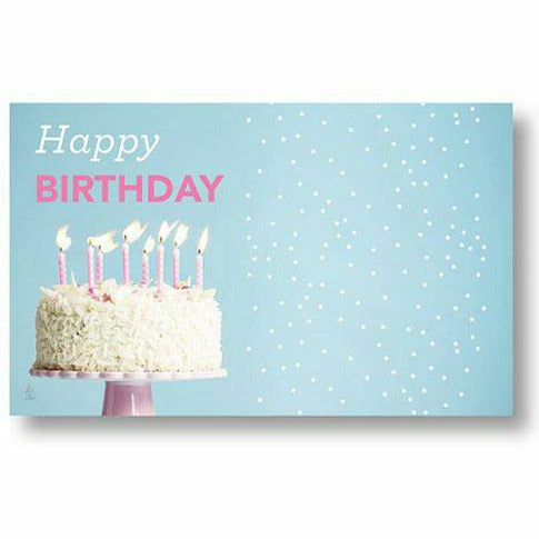 Happy Birthday Let There Be Cake Card