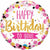 "397 Pink Happy Birthday to You 18"" Mylar Balloons"