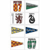 Harry Potter House Tattoos 1 Sheet