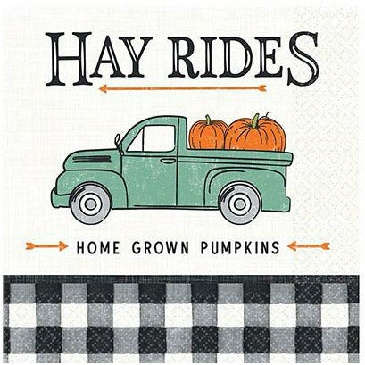 Harvest Fall Lunch Napkins 16ct