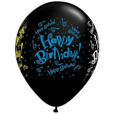 "Happy Birthday Blast 11"" Latex Balloon"