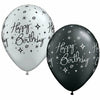 "Happy Birthday Elegant Spark Mixed Assortment 11"" Latex Balloon"