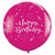 "Happy Birthday Shining Star 36"" Latex Balloon"