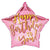 "425 Pink Star Happy Birthday to You 17"" Mylar Balloon"