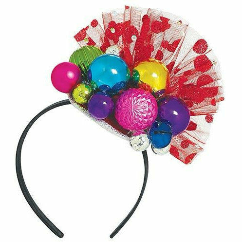 Holiday Ornament Fascinator Headband