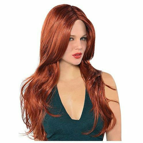 Hot Honey Red Wig
