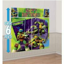 Teenage Mutant Ninja Turtles Scene Setter 5pc