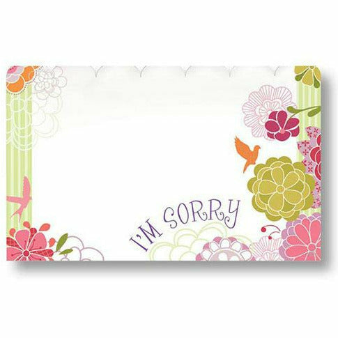 I'm Sorry Flowers Card