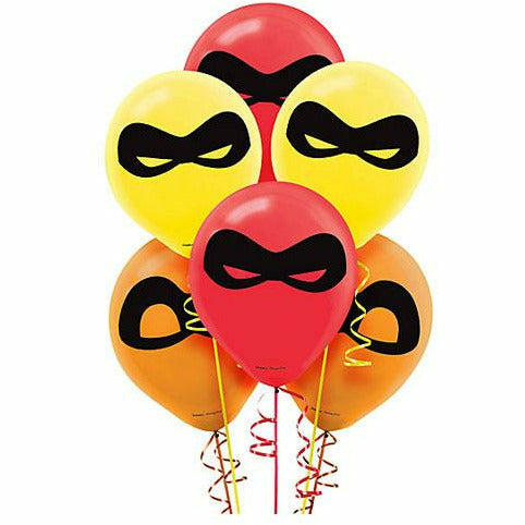 Incredibles 2 Latex Balloons 6ct, 12""