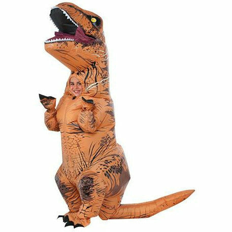 Inflatable Kids T-Rex Costume