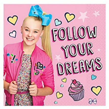 JoJo Siwa Lunch Napkins 16ct