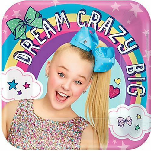 JoJo Siwa Lunch Plates 8ct
