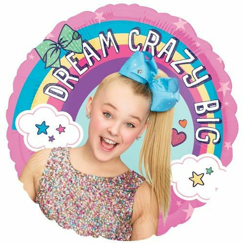 "162 JoJo Siwa Dream Crazy Big 18"" Mylar Balloon"
