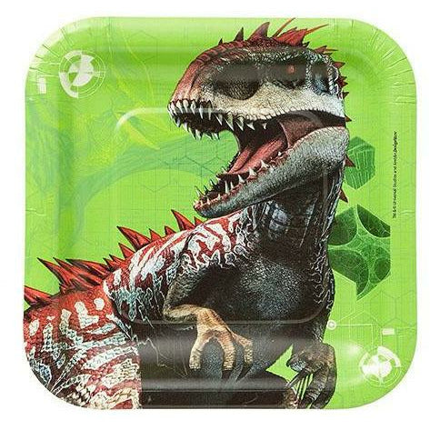 Jurassic World Dessert Plates 8ct