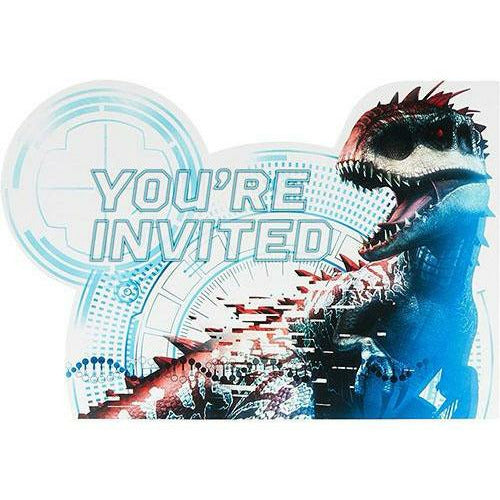 Jurassic World Invitations 8ct