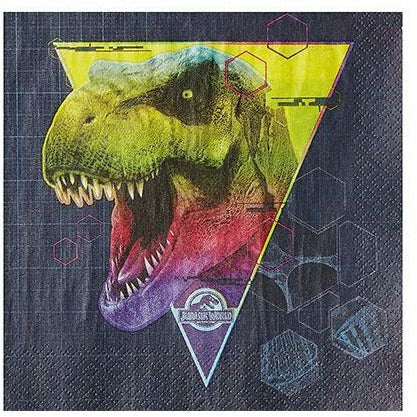 Jurassic World Lunch Napkins 16ct