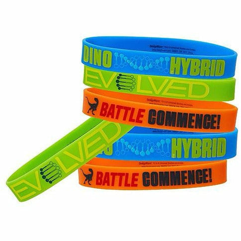 Jurassic World Wristbands 6ct