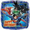 "187 Justice League Happy Birthday 17"" Mylar Balloon"