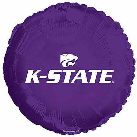 "Kansas State University 17"" Mylar Balloon"